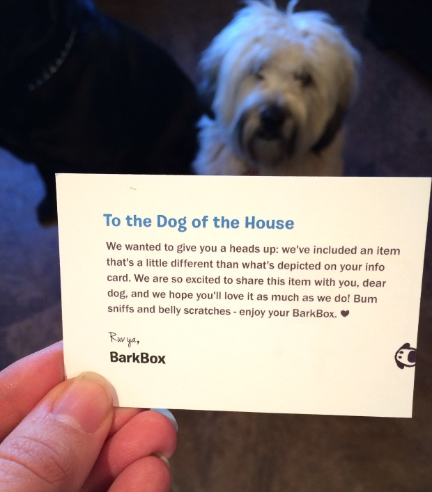 barkbox march 2