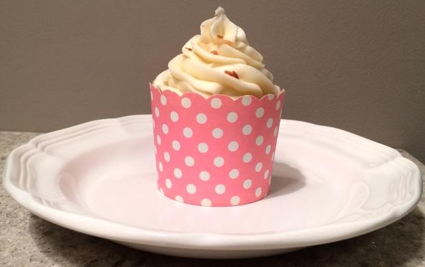 plate cupcake carrot
