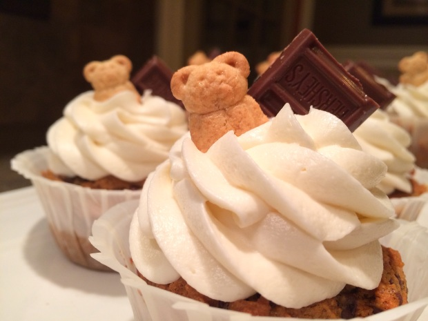 Smore cupcake 1