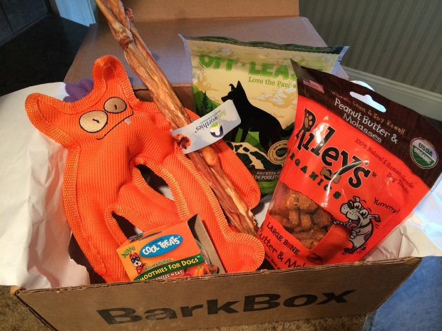 Barkbox april 1
